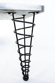 Modern Metal Furniture Legs by Coffee Table Legs Modern Furniture Legs Spiralconelegs Com