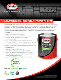 diamond 450 no voc glidden professional pdf catalogues