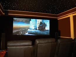 Home Theater Decor Packages by Dazzling Concepts Of Cool Home Theater Rooms With Dark Brown