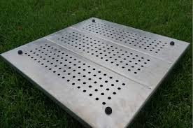 fire pit pads protect your deck with fireproof deck protect mats