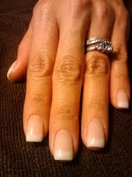 let u0027s make your nails pretty pink and white gel overlay