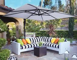 offset patio umbrella with led lights patio 10 square cantilever umbrella offset patio umbrella with