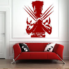 home decor wall sticker the wolverine xmen dc comic cool boys wall see larger image