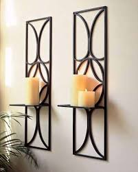 Iron Candle Wall Sconce Best 25 Wall Mounted Candle Holders Ideas On Pinterest Modern