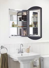 Contemporary Bathroom Shelves Delightful Medicine Cabinet Mirror Chrome Bathroom Shelves Binet