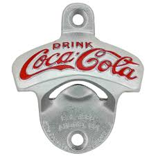 unique wall mounted bottle openers coca cola cast iron wall bottle opener bar and kitchen