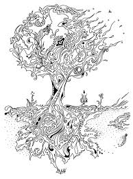 pine tree coloring pages coloring book pine tree google search graphics pinterest
