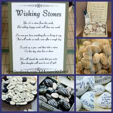 wishing rocks for wedding wishing stones retirement party ideas pastor