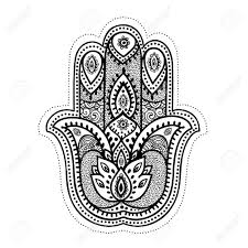 35369958 set of ornamental indian elements and symbols stock