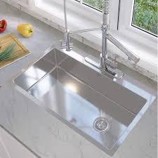 33 by 22 kitchen sink ancona valencia series 33 x 22 single bowl drop in kitchen sink