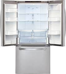 lg lfc22770s 30 inch french door refrigerator with smart cooling