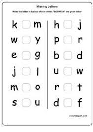 letter u0026 number recognition assessment for pre k and k
