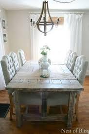 Rustic Farmhouse Dining Room Table Coastal Farmhouse Dining Room Dining Room Tutorials Pinterest