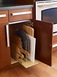 Upright Storage Cabinet Best Ways To Store More In Your Kitchen Cutting Boards Cuttings