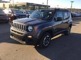 new jeep renegade new 2017 jeep renegade 4x4 sport edmonton dealer edmonton ab
