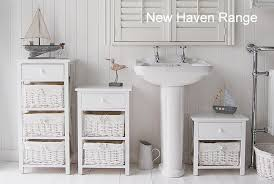 alluring new haven tall white bathroom cabinet freestanding for