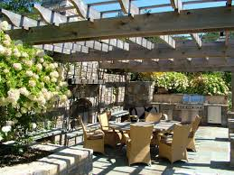 Cheap Pergola Ideas by Cheap Outdoor Kitchen Ideas Hgtv