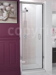 Shower Door 720mm Classic Frame Less Hinged Shower Door 700 X 1950mm