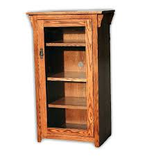 mission bookcase forest designs mission bookcase w full glass