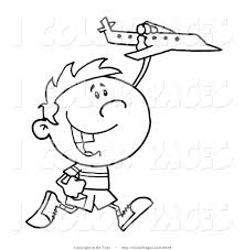 coloring page boy running kids drawing and coloring pages marisa