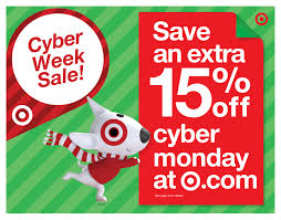 target offering 30 discount on target reveals cyber week savings