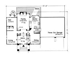 Uk House Designs And Floor Plans The England 6184 3 Bedrooms And 2 Baths The House Designers