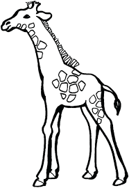 giraffe coloring pages printable baby shower invitations face mask