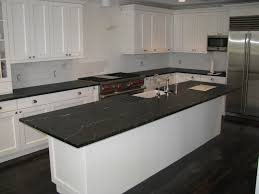 dining room interesting black soapstone countertop with white