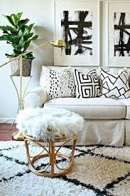 Best Black White Gray Images On Pinterest West Elm - Black and white family room
