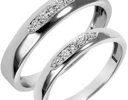 Wedding Ring Trio Sets by Ring Perfect White Gold Wedding Ring Sets Ebay Terrifying Asian