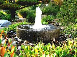 Home Decor Fountain Elegant Interior And Furniture Layouts Pictures Outdoor Garden