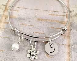 flower girl charm bracelet butterfly charm bracelet girl jewelry girl