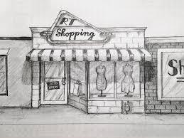 shopping sketch by l2d dribbble