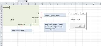 excel return a range from a1 to the true last used cell stack