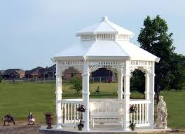 white gazebo grace gazebo 11 white midland vinyl products