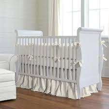 Bed Skirt For Crib Box Pleat Bed Skirt Crib Lustwithalaugh Design Installing Box
