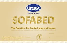 Sofa Bed Uratex Double Product Labels Macreativity