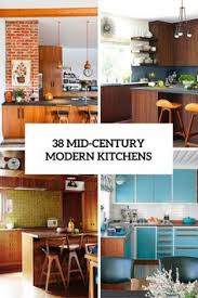 interior design of kitchens how to create a mid century inspired kitchen mid century