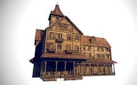 amityville horror house basement amityville house 3d cgtrader