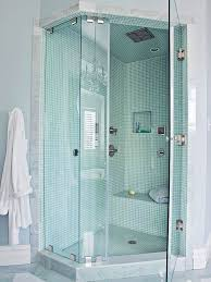 Glass Showers For Small Bathrooms Small Bathroom Corner Shower Ideas Hanging Lanterm L Shower