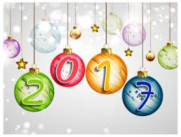 Decoration Happy New Year Happy New Year 2017 Decor Vectors Stock In Format For Free
