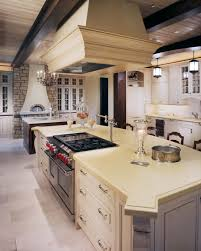 house design custom kitchen islands with pot filler and copper