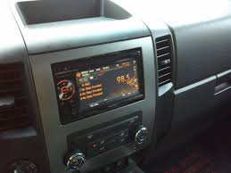 nissan aftermarket accessories canada aftermarket double din install fyis nissan titan forum