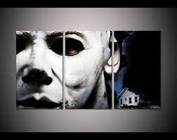 aliexpress com buy print framed michael myers halloween picture
