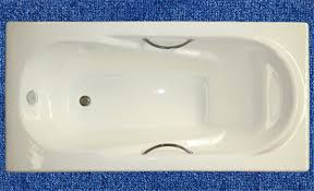 Cast Iron Bathtub Weight Simple Enamel Cast Iron Build In Bathtub With Armrest Buy