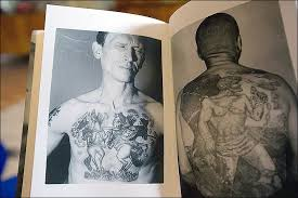 the man who reads the criminal mind by analysing convicts u0027 tattoos
