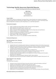 quality assurance resume exles quality assurance resumes