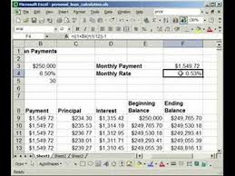 Estimate Mortgage Rate by How To A Fixed Rate Loan Mortgage Calculator In Excel