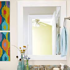 How To Frame A Bathroom Mirror 15 Life Hacks For Your Tiny Bathroom
