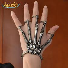 fashion hand rings images Hapiship 2018 new hot sell fashion style black halloween hand jpg